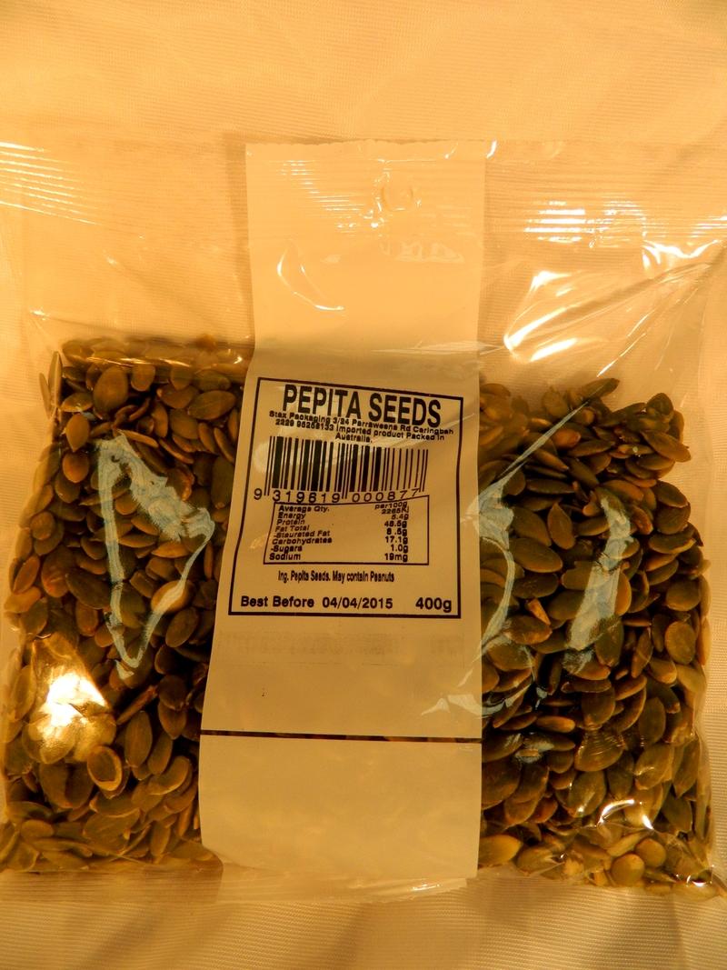 Organic Pepita Seeds